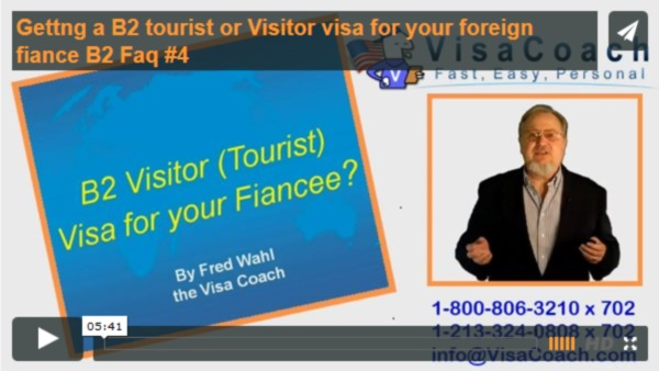Visitor Visa for K1 Fiance