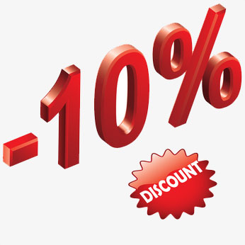Active Duty Military 10% Discount