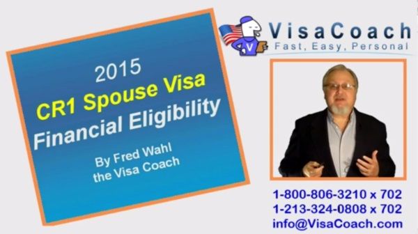 Financial Eligibility Requirements for CR-1 Spouse Visa CR1 FAQ #7