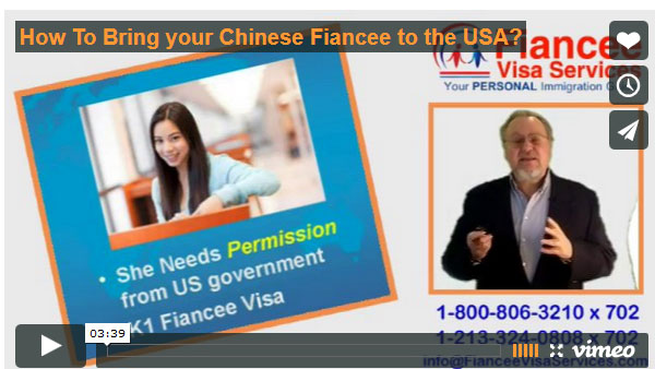 How Bring Chinese Fiance to USA
