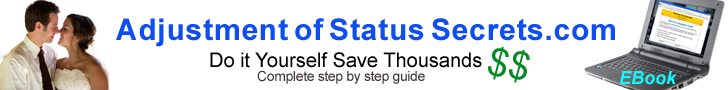 Do it yourself Adjustment of Status