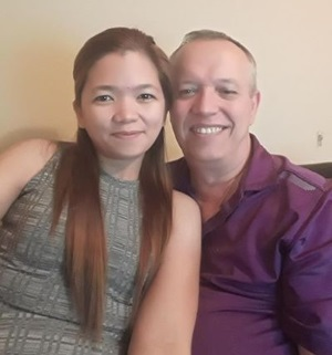 Barry + Kelly Fiance from Philippines