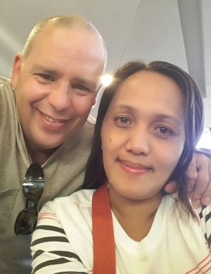 Kent + Cynthia Fiance from Philippines