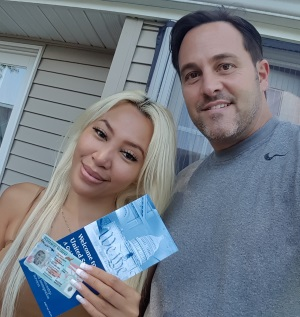 Kevin + Lyam Fiance visa and Green Card from Philippines